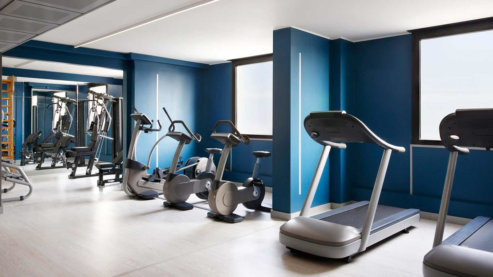 Fitness Room Four Points by Sheraton Padova